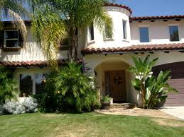 casual chic and flair in trend setting california style plans spanish mediterranean style home in california