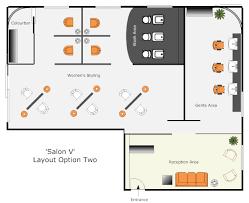 beauty salon floor plans hair salon concept small design and salons pictures floor plans