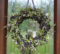Spring Wreaths For Door by Summer Wreath Spring Door Wreath Lavender Wildflowers Wisteria