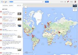 London On Map Display Worldwide Search Result Markers Hundreds Thousands On