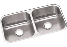 stainless steel double bowl undermount sink dayton stainless steel 31 3 4 34 x 18 1 4 34 x 8 34 equal