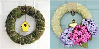 Easter Decorations To Print And Color by 30 Diy Easter Wreaths Ideas For Easter Door Decorations To Make