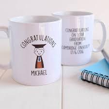 graduation mug personalised boy s graduation gift mug by just toppers