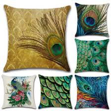 discount feather decorative pillows 2017 feather decorative
