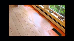 Laminate Floor Spacers Ceramic Tile Wood Look Plank Floor Youtube