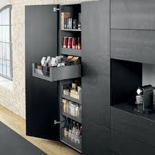 tower cabinets in kitchen legrabox space tower blum larder drawer system consists of 5