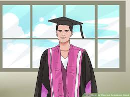 doctoral graduation gown 3 ways to wear an academic wikihow