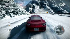 porsche 911 snow need for speed the run porsche 911 carrera s 2012 race snow test