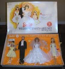 Wedding Gift Set Barbie Wedding Party Gift Set