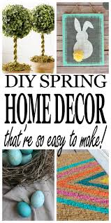 inexpensive diy spring home décor dory fitz