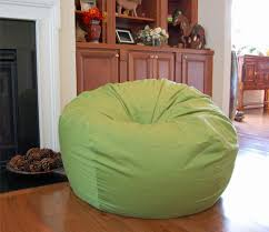 Oversized Bean Bag Chair Amazon Com Ahh Products Lime Organic Cotton Large Bean Bag Chair
