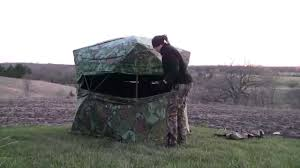 Primos Blinds Double Bull How To Set Up A Hub Style Ground Blind Turkey Hunting Youtube
