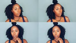Half Up Half Down Hairstyles Black Hair Braidless Crochet Braids Half Up Half Down Curl Braid Hair