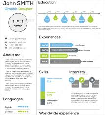 Infographic Resume Maker Template For Resume 12 More Free Resume Templates Doc 12751650