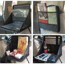 Computer Desk For Car Travel Car Laptop Holder Tray Bag Mount Back Seat Food Table Work