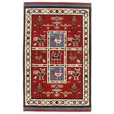 Red Tribal Rug Flat Woven Tribal Wool Jute Rug 8 U0027 X 10 U0027 Free Shipping Today