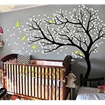stickers arbre pour chambre bebe amazon fr stickers arbre blanc bebe