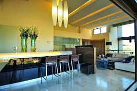 Modern House Dining Room - bedroom rug and bed awesome modern house in bassonia south africa