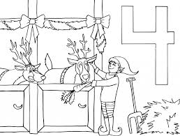 advent calendar coloring pages getcoloringpages com