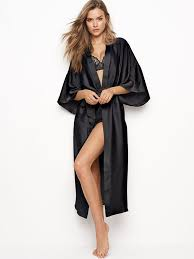 robe de chambre en satin robes kimono robes s secret