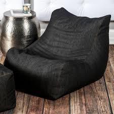 Bean Bag Chair With Ottoman Jaxx Ponce Bean Bag Chair With Leon Ottoman Jaxx Denim Touch