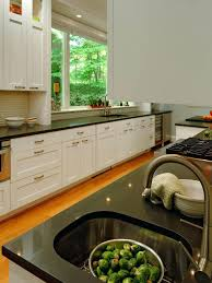 kitchen blue color schemes with wood cabinets paint colors for