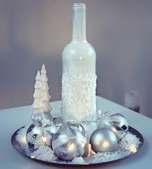 Diy Wine Bottle Decor by Diy Snowy Christmas Wine Bottle Decoration Youtube