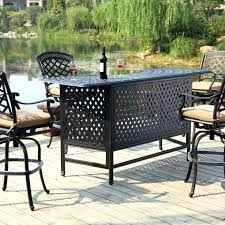 Outdoor Bar Patio Furniture Outdoor Patio Bar Sets Large Size Of Bar Sets Outdoor Bar Table