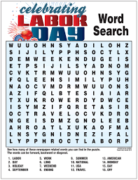 thanksgiving day puzzles labor day word search u2013 nie rocks