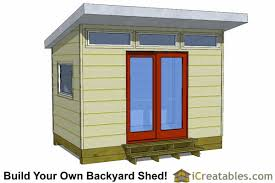 Diy Garden Shed Design by Modern Shed Plans Modern Diy Office U0026 Studio Shed Designs