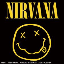dafont emoji nirvana smiley logo sticker sold at abposters com