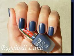 raggio di luna nails pupa velvet matt n 007 grey blue