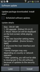 android security policy updates kitkat upgrade deletes apps