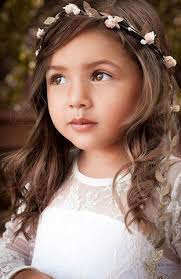 flowergirl hair flower girl hairstyles fleur and lace boutique