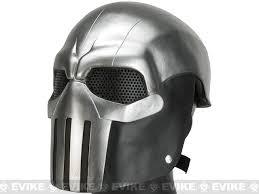 silver mask evike r custom fiberglass wire mesh task master mask