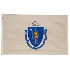 New Oregon Flag Valley Forge Flag 3 Ft X 5 Ft Nylon Massachusetts State Flag Ma3