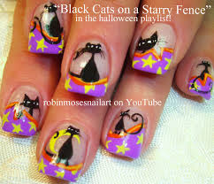 halloween nail design bats bats more bats youtube halloween nail