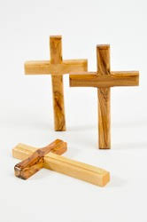small wood crosses comfort cross holding palm clinging crosses small pocket cross