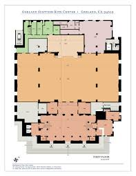 1st floor grand ballroom oakland scottish rite centeroakland floor plan