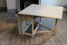 Folding Table With Wheels Kitchen Table Ikea Folding Kitchen Table And Chairs Folding