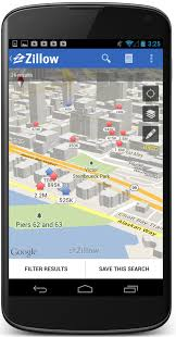 zillow app for android zillow for android updated with support for 3d maps