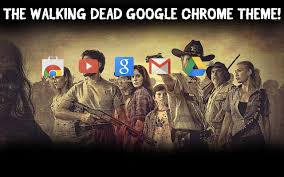 the walking dead theme chrome web store