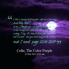 color water quotes page numbers purple book harpo important in the