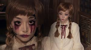 vintage doll broken doll halloween makeup youtube