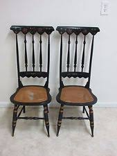 Antique High Back Chairs Hitchcock Chairs Antique Ebay