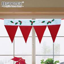 compare prices on christmas window curtains online shopping buy