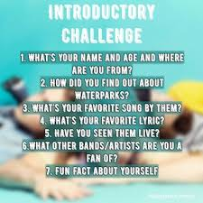 Challenge Properly Introductory Challenge Waterparks Amino