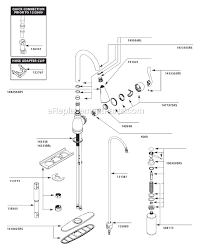 replacement parts for moen kitchen faucet moen ca87003srs parts list and diagram ereplacementparts com