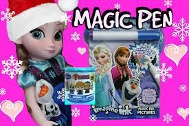 frozen magic colour u0026 games imagine ink book surprise