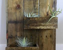 vertical planter box etsy